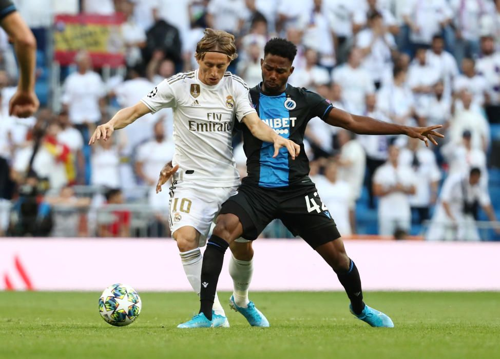 Champions League: Real Madrid - Brujas.