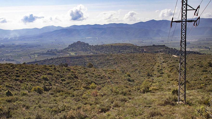 Una macrogranja solar afectará al paisaje del Castillo de Montesa