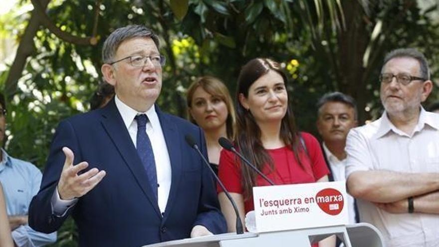 """Puig pide apoyo para revalidar sus cargos en un PSPV """"más fuerte"""""""