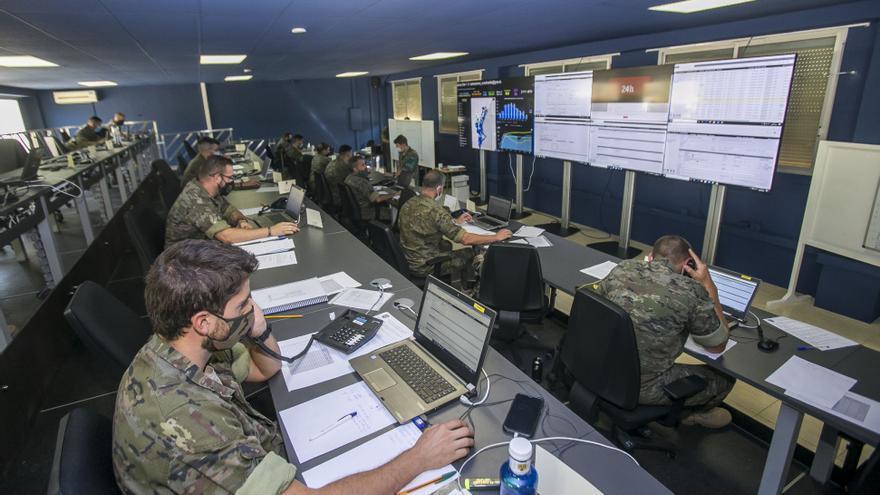 Los militares rastreadores del MOE de Rabasa detectan 120 casos positivos de covid al día