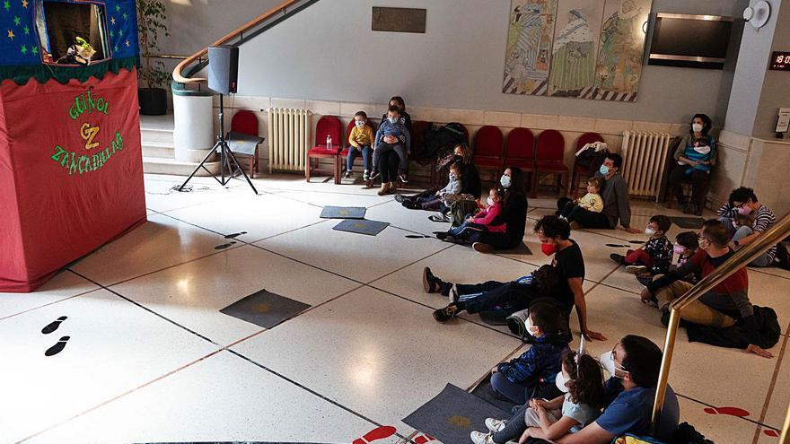 El Teatro Principal de Zamora se despide mañana del Festival de Títeres y Marionetas