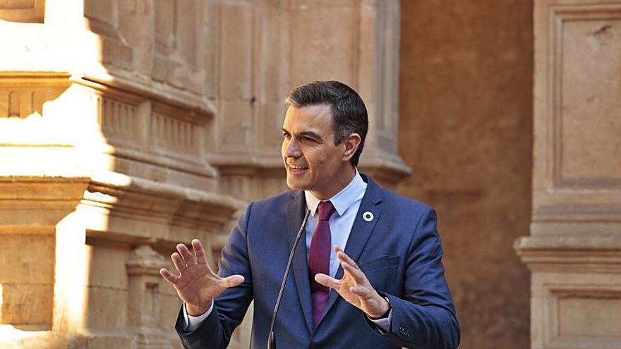 Sánchez defensa la gestió del seu Govern i retreu la crítica a l'oposició