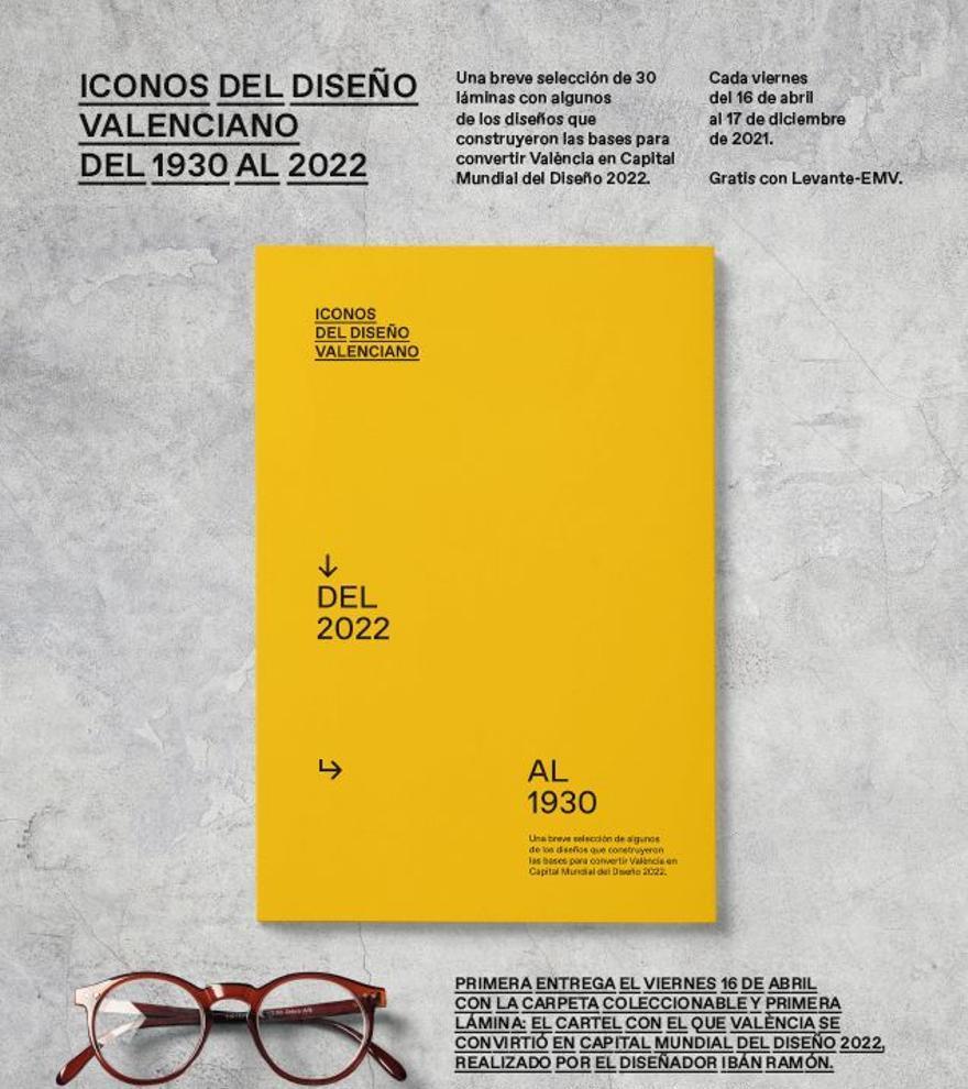 Una selección de 30 láminas resumen de los trabajos que nos han llevado a conseguir la capitalidad del diseño para València