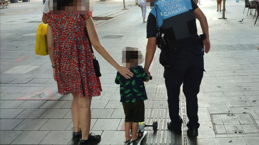 Los padres pierden a un niño de corta edad en Mesa y López