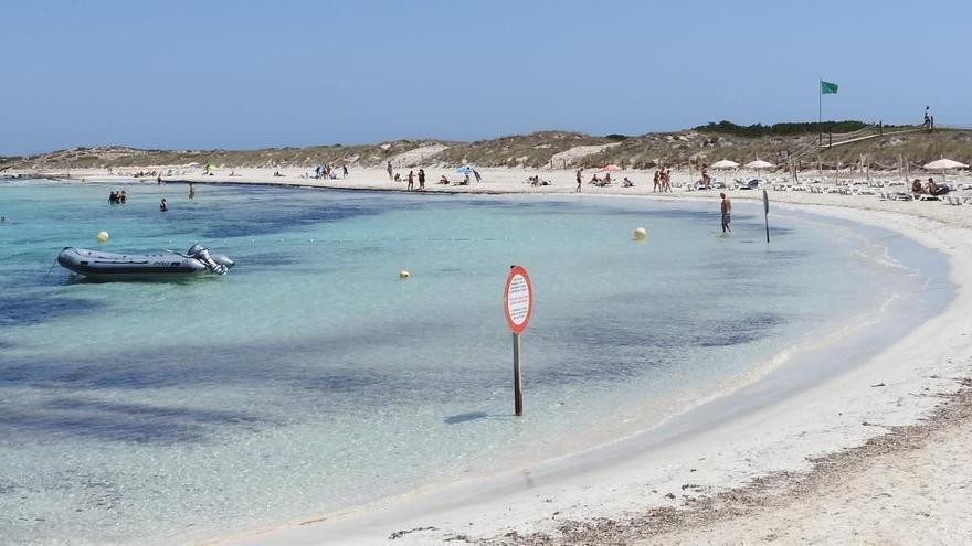 Ses Illetes, de Formentera, elegida mejor playa de España por Lonely Planet