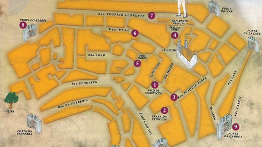 El mapa de la fiesta