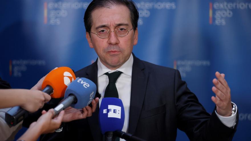 """Albares pide """"tiempo y discreción"""" para consolidar la relación con Marruecos"""