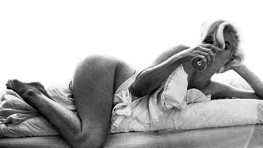 Las últimas imágenes de Marilyn Monroe, al desnudo