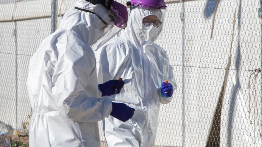 Los brotes de contagios caen casi un 80 % desde el 12 de marzo