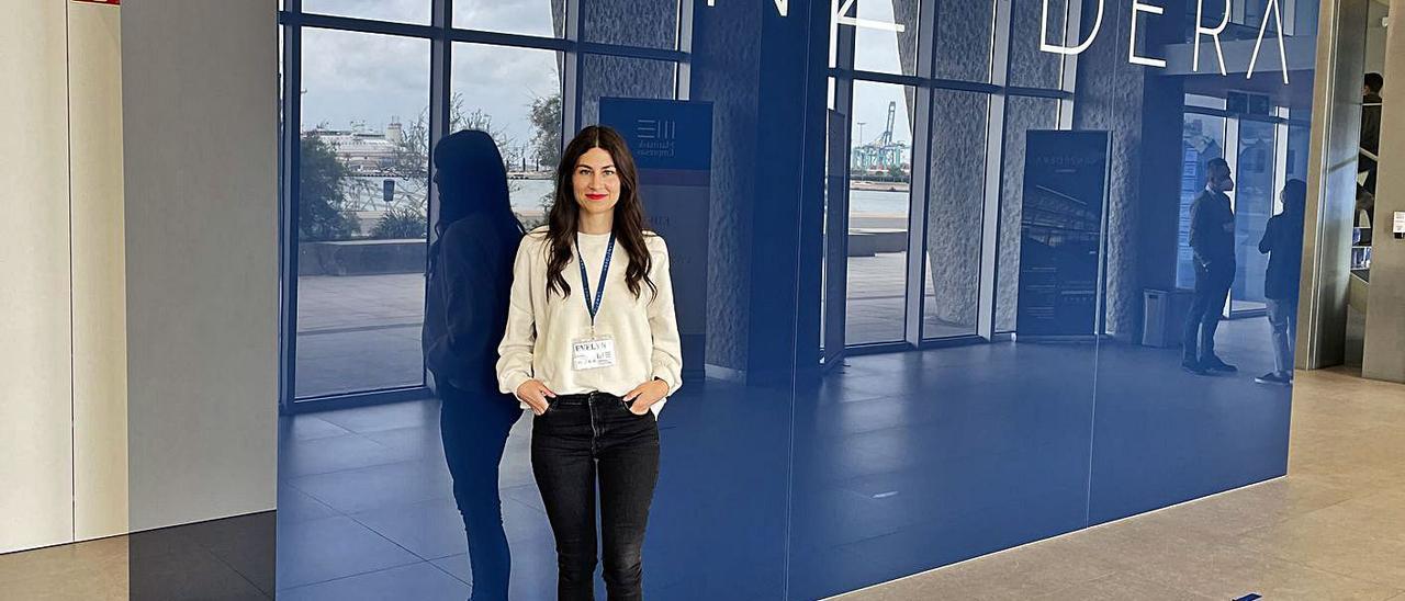 La fundadora de Nusa, la ilicitana Evelyn Navarro.