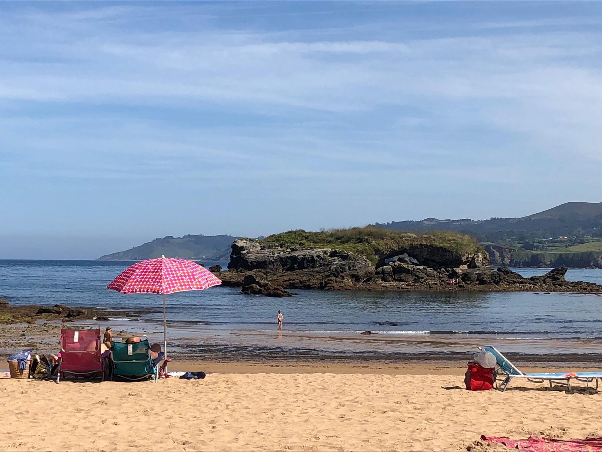 Así han disfrutado los asturianos del soleado domingo