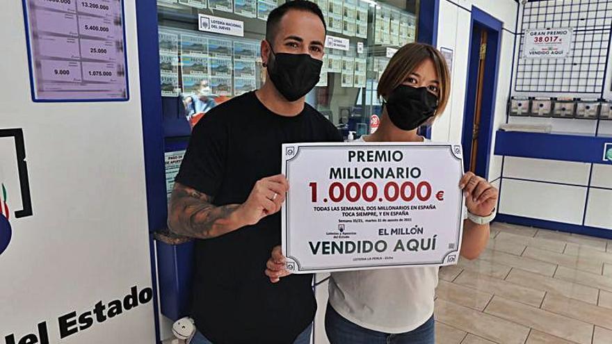 Euromillones deja en Elche un millón de euros