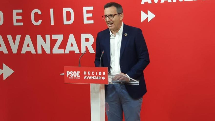 Conesa planteará el lunes a Ciudadanos un gobierno de coalición con el PSOE