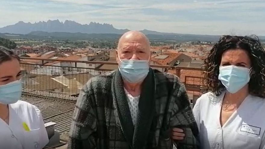 Sense veure Montserrat durant set mesos per culpa de la covid
