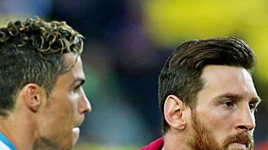 Messi contra Cristiano por el primer puesto