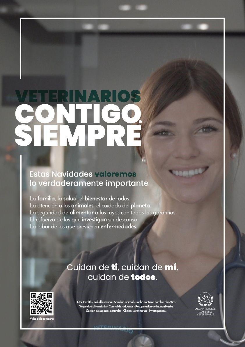 """Los veterinarios lanzan una campaña para defender su """"imprescindible"""" labor para garantizar la salud pública"""