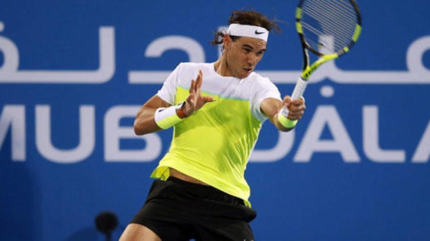 Rafa Nadal, a la final de Abu Dabi tras derrotar a David Ferrer