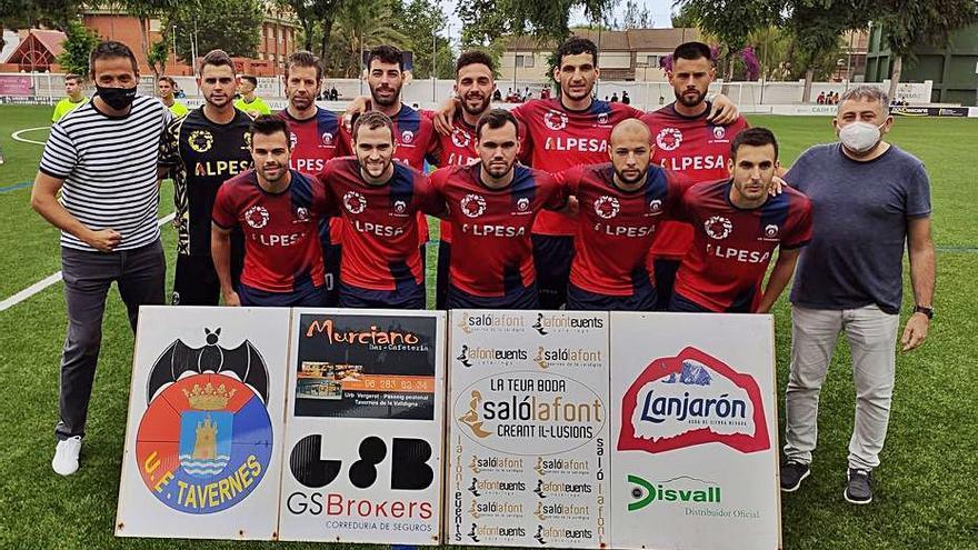 La UE Tavernes jugará la promoción de ascenso a 3ª como subcampeón de liga