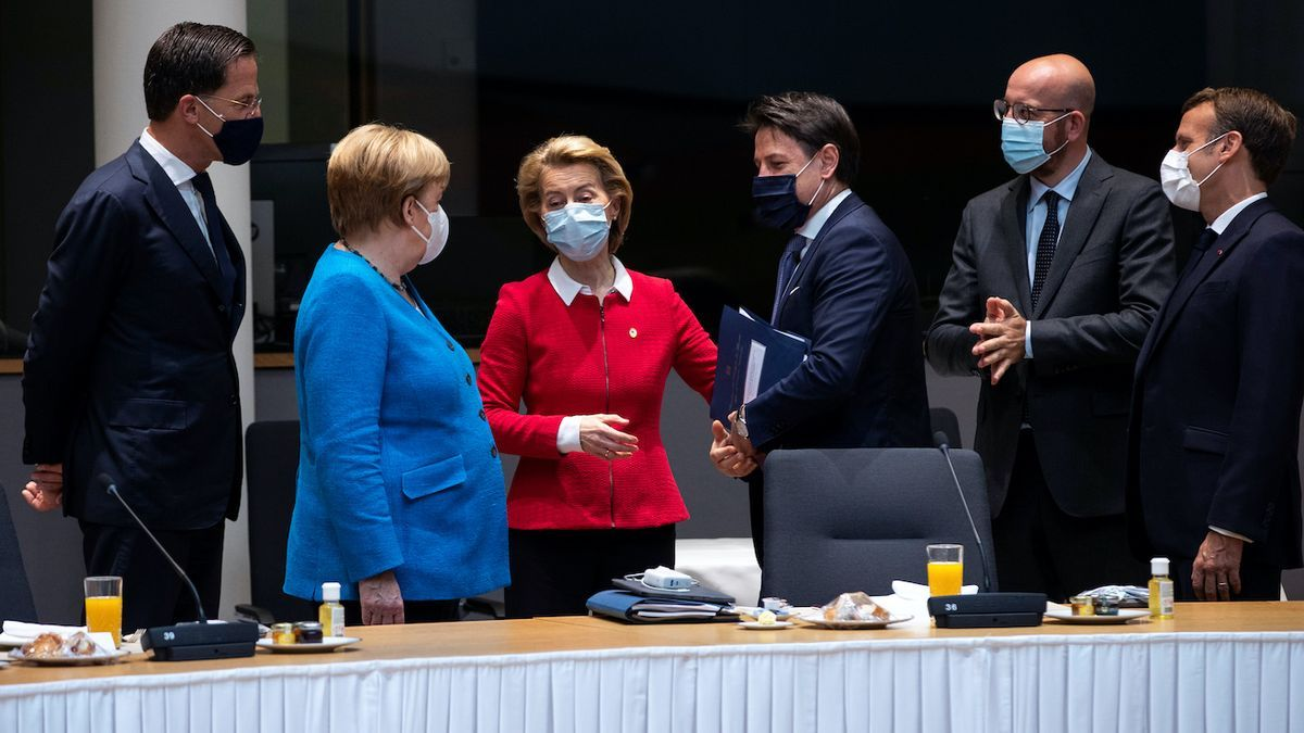 Los líderes de la UE acuerdan el fondo de reconstrucción