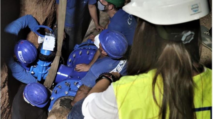 La Emshi instala una toma de emergencia en Picanya