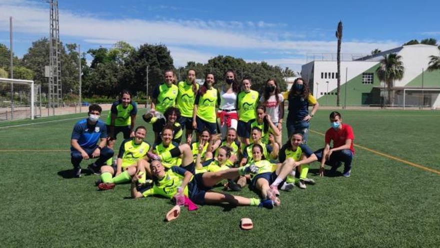 El Ràcing d'Algemesí femenino arranca la Liga Plata con goleada