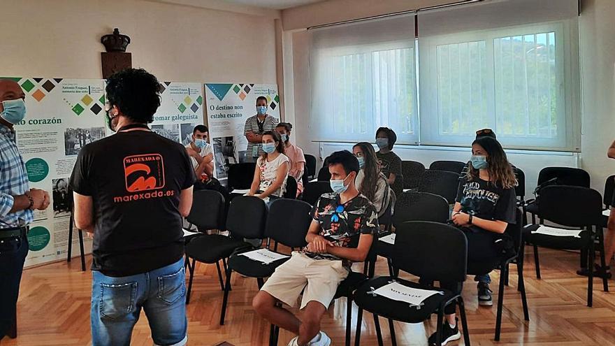 """""""Influencers"""" visitan Cerdedo-Cotobade"""