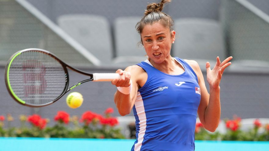 Halep arrolla a Sorribes en el Mutua Madrid Open