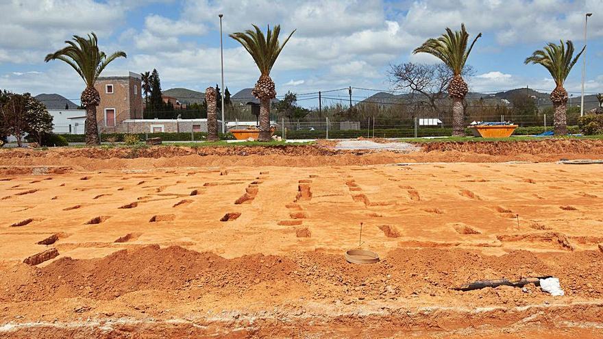 Nuevos restos arqueológicos en el aeropuerto de Ibiza