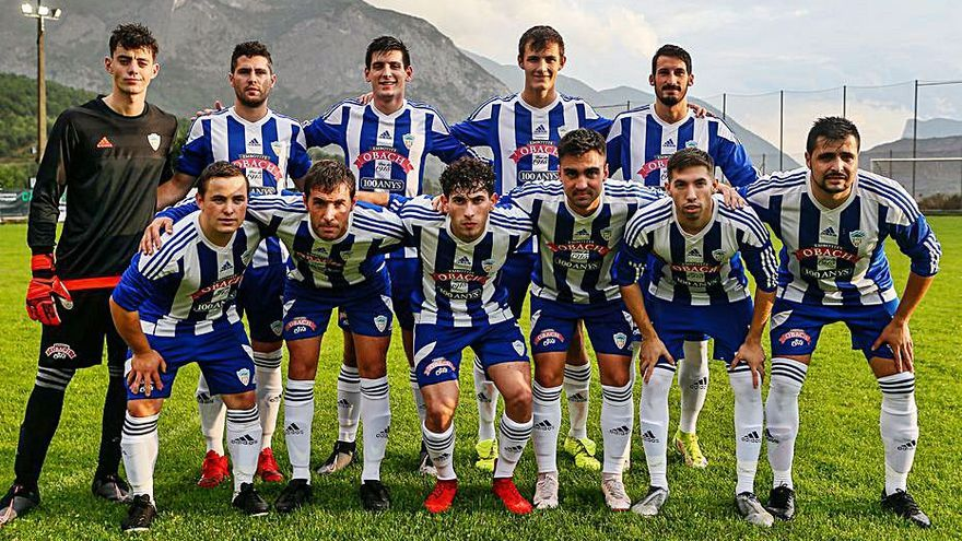 El CF Organyà cau a la final de la Copa Pirineus amb el Tremp