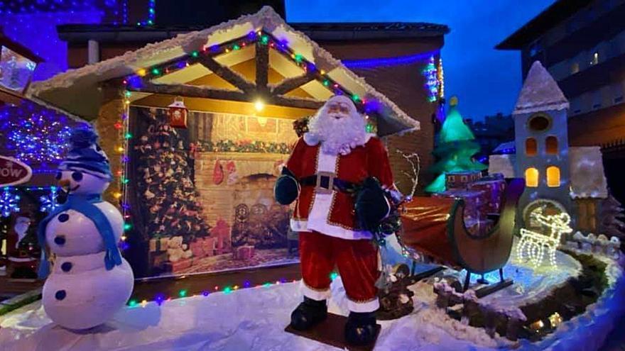 Papá Noel brilla en Coto Carcedo