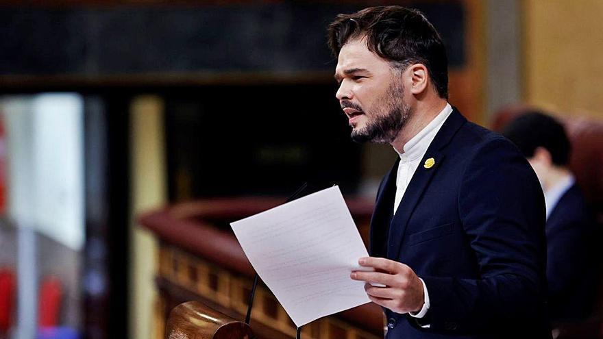 ERC s'enfronta a JxCat al Congrés  i nega que hagi 'traït' Catalunya