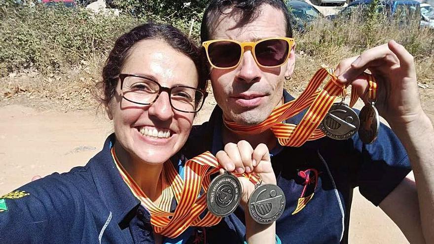 Medalles de plata per a l'Arc Set en  els catalans