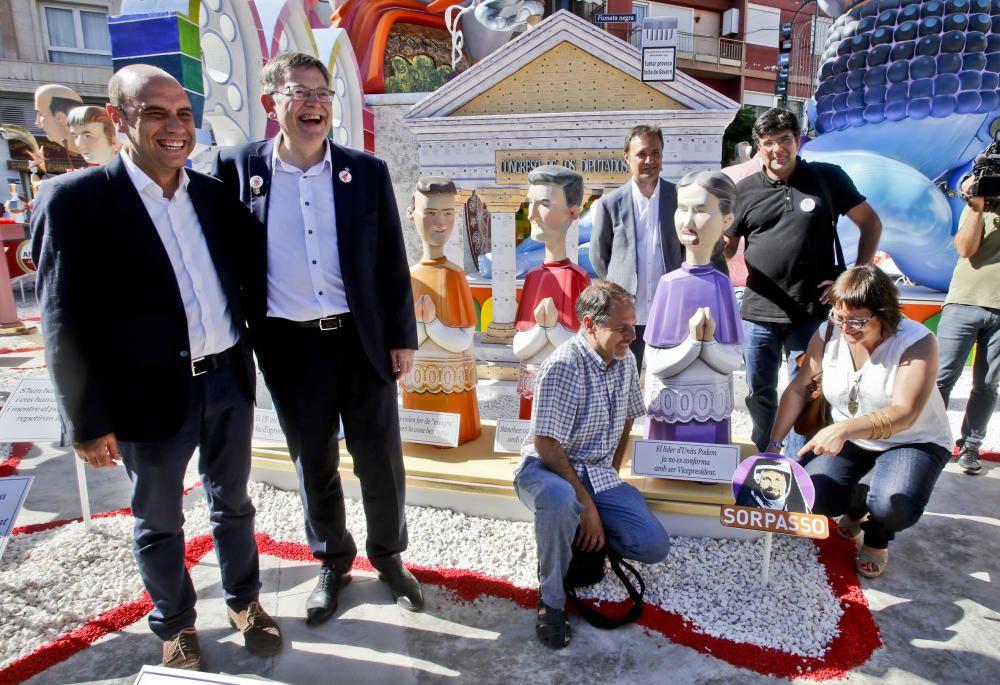 La Hoguera Sèneca-Autobusos celebra por segundo año consecutivo el primer premio