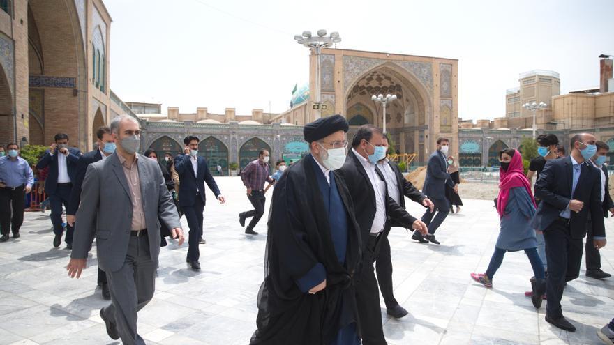 Raisi lidera los primeros resultados oficiales de las elecciones iraníes