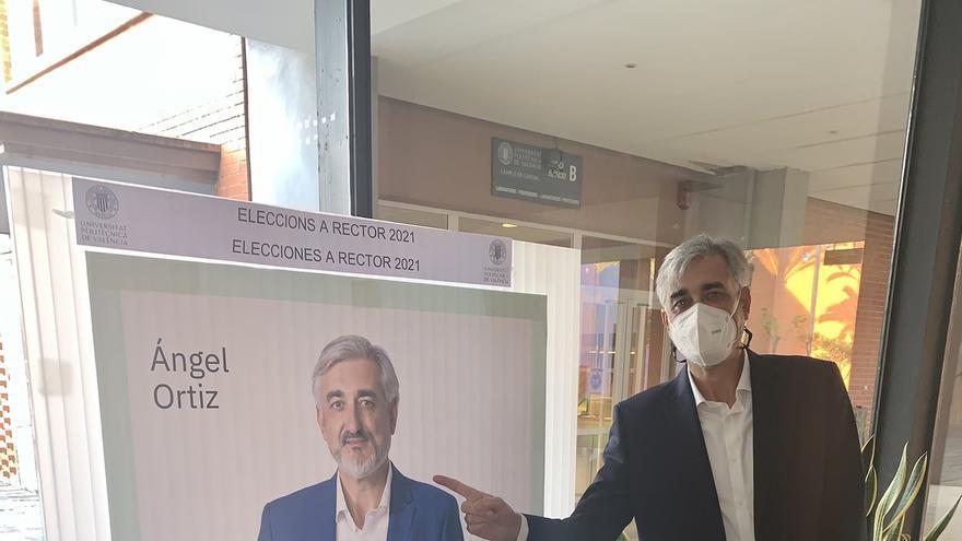 """""""Simplificar, crecer, mejorar"""", el lema de Ángel Ortiz para la UPV"""