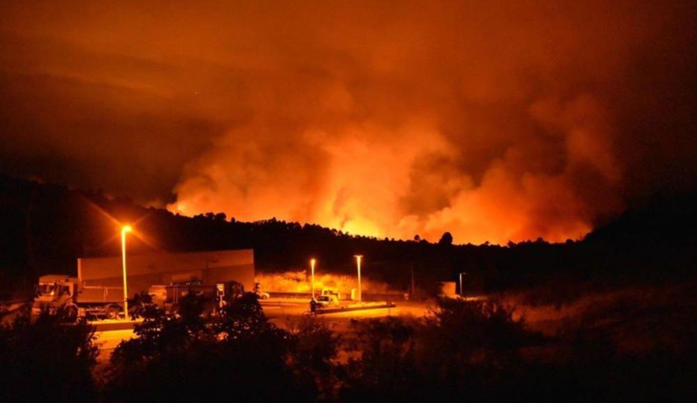 Incendio en Garafía