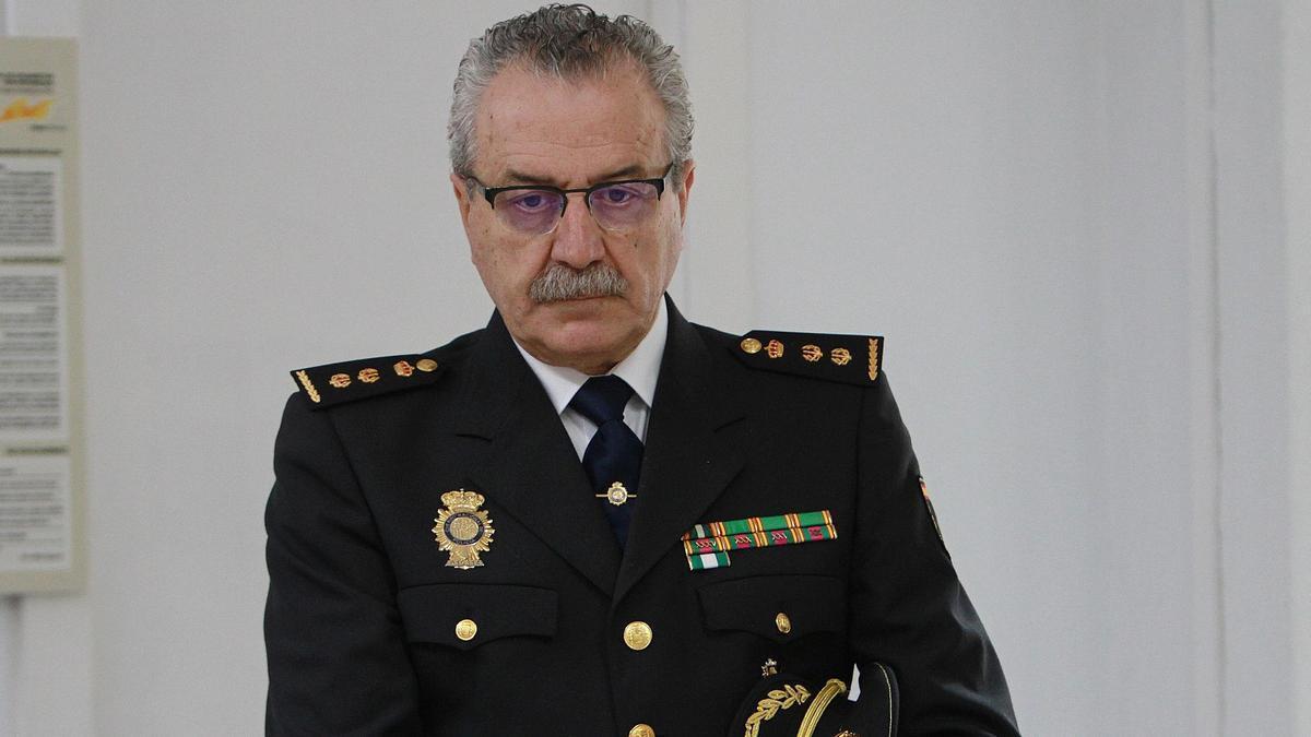 El comisario jefe de la Policía Nacional de Ourense, Juan Carlos Blázquez. // IÑAKI OSORIO