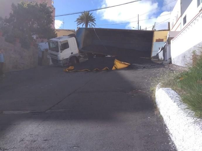 Accidente en la Cuesta de Caraballo