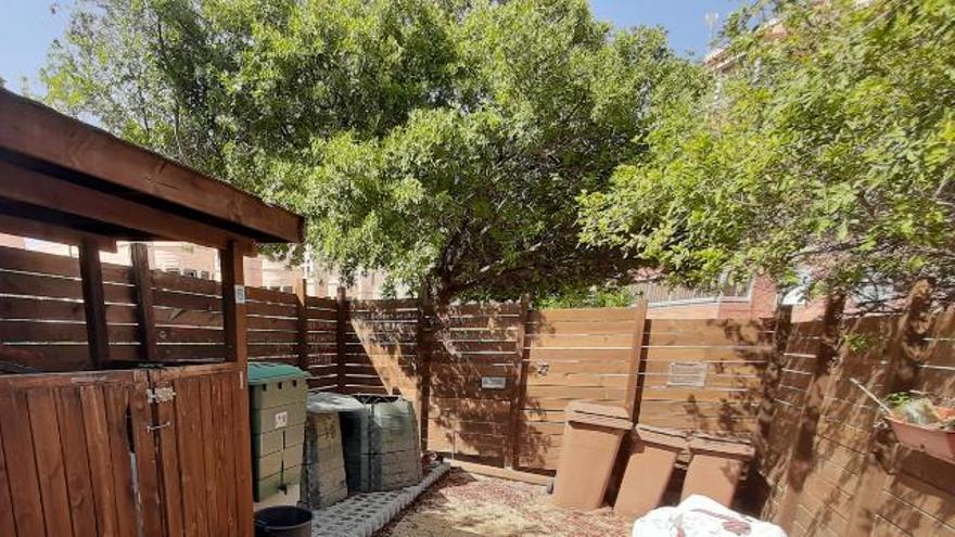 Rechazo frontal de los vecinos de Alicante a la supresión de los puntos de compostaje