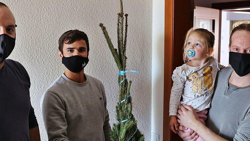 Un jove gironí crea un web de venda d'avets del Montseny-Guilleries