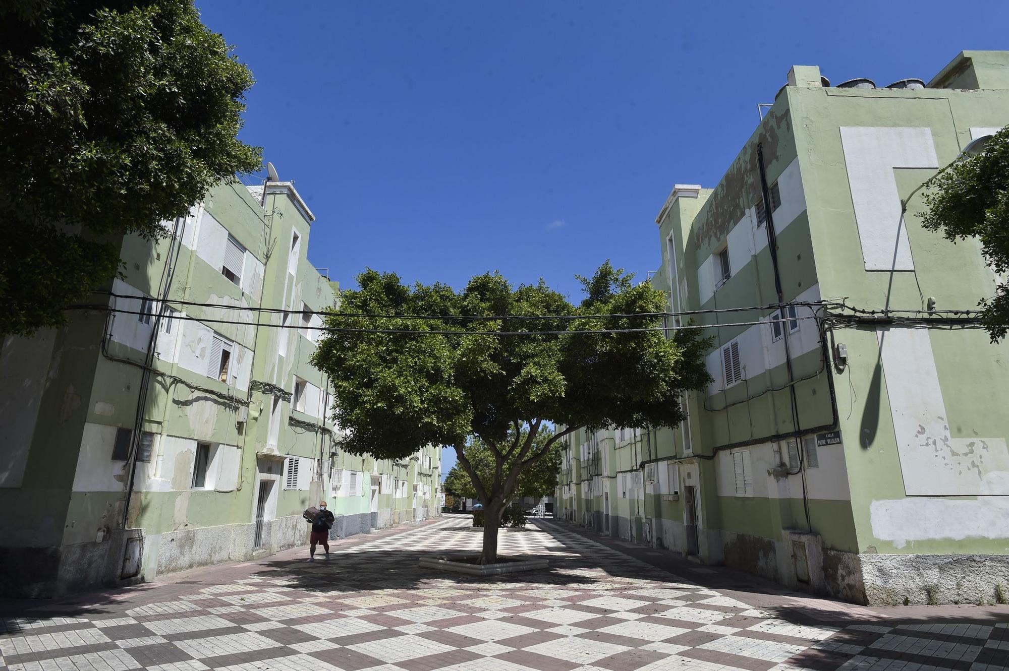 Viviendas del Grupo R. Suárez Franchy, en Lomo Apolinario