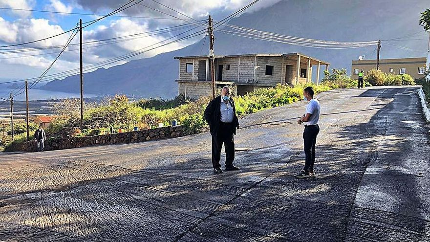 El Ayuntamiento de La Frontera mejora un tramo de la calle Merese