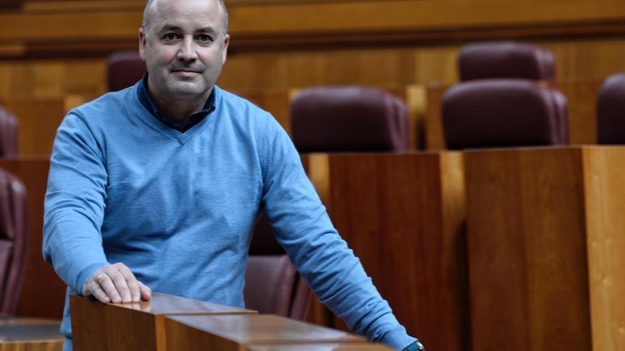 """David Castaño, portavoz de Ciudadanos en las Cortes: """"A veces, más que autocrítica, lo que falta es más humildad"""""""