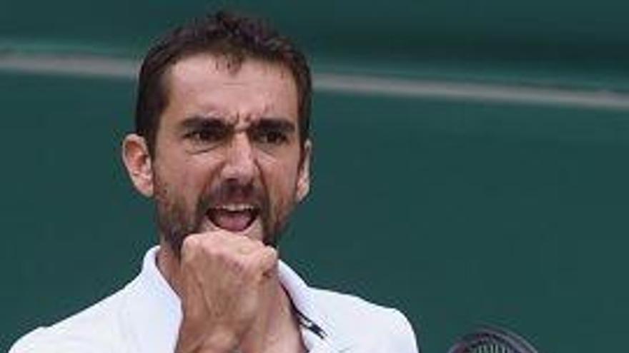La potència de Cilic és l'únic obstacle de Federer cap al seu vuitè Wimbledon