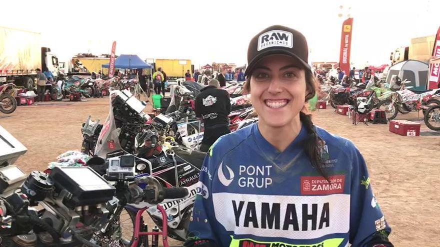 Sara García no falla y alcanza la meta de la segunda etapa