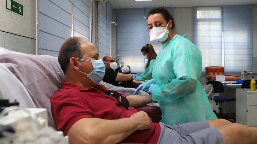 Campaña especial de donación de sangre y de plasma hoy con motivo de la Semana del Donante