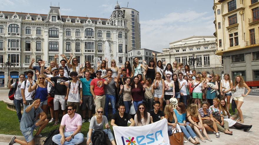 Récord de solicitudes de los universitarios asturianos para estudiar en el extranjero