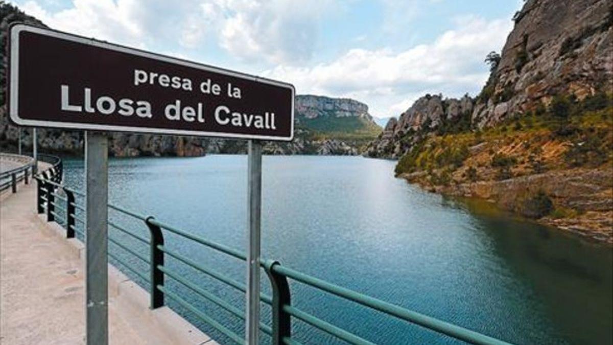 Embalse de la Llosa del Cavall, en Lleida.