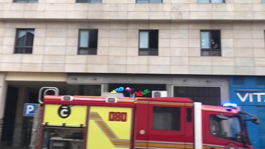 Un conato de incendio en Alcalde Marchesi moviliza a los bomberos