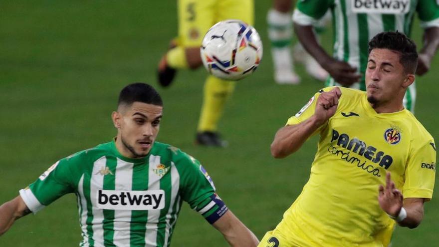 El Villarreal pierde la tercera plaza tras empatar ante el Betis